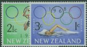 NZ SG887-8 Mexico City Olympic Games health set of 2